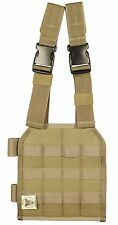 New Tan Bulle MOLLE Webbing Drop Leg Panel