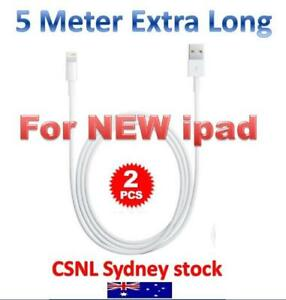 5 Metre USB Cable Charger for Apple iPad  Pro 12.9/11 Iphone12/11/XS MAX MINI 5