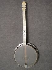 Vintage Banjo 4 String Tenor Restored with used  case