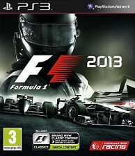 F1 2013 for Sony PlayStation 3, 2013 PS3 Game No Ins - Formula 1 Racing 13