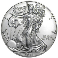 2018 $1 American Silver Eagle 1 oz Brilliant Uncirculated