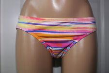 NEW Ralph Lauren LR64E93 Multicolor Tie Dye Swimwear Hipster Bikini Bottom 14