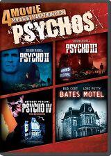 PSYCHO 2 3 4 + BATES MOTEL COLLECTION DVD HITCHCOCK MARATHON SERIES II III IV R1