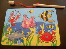 Wooden Magnetic Preschool Ocean Puzzle