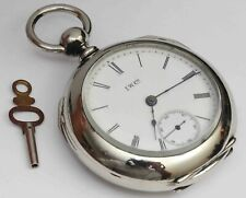 1887 Illinois Keywind 18 Size Pocket Watch w/Key - Excellent Condition