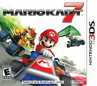Mario Kart 7 (Nintendo 3DS, 2011) NEW