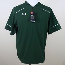 NWT UNDER ARMOUR ULTIMATE SS CAGE JACKET 1252002-301 GREEN SZ XL (GB047)