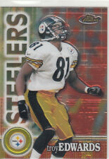 TROY EDWARDS 2000 TOPPS FINEST #117 PITTSBURGH STEELERS