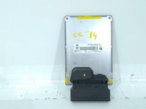 2014 VW PASSAT CC ELECTRIC DAMPING SHOCK SUSPENSION MODULE 3C0907376A
