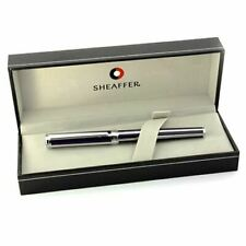 Sheaffer Intensity Fountain Pen - Violet Striped -  Broad Nib