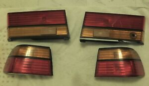 1991-1993 Honda Accord Wagon OEM Complete Tail Light Set - Excellent Condition