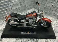 Barbie Harley Davidson Fat Boy Motorcycle 1999 Mattel With Platform No Box