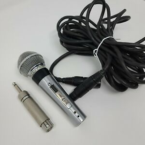 Shure 565SD Unisphere I Dynamic Wired Microphone 565SD With Extension Cable