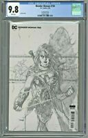 Wonder Woman #750 CGC 9.8 Jim Lee Sketch Cover Variant Edition 1:100 Incentive