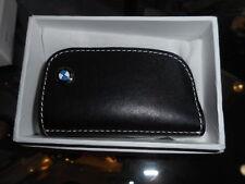 BMW Leather Key Case - Black - 80232209855