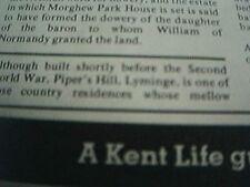 ephemera 1978 kent piper's hill lyminge for sale