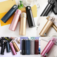 500ml Hot Cold Water Vacuum Insulated Bottle Tea Cup Drinks Flask Sports Cycling