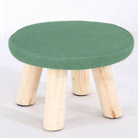 Round Furniture Protective Sleeve - Square Ottoman Foot Stool Cover 30cm