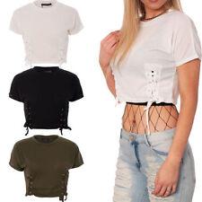 Short Sleeve Crop Tops & Shirts for Women