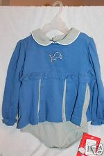 NEW WITH TAG REEBOK DETROIT LIONS GIRLS CHEERLEADER DRESS SIZE 24M