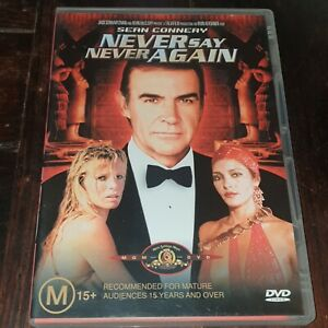 Never Say Never Again DVD - Sean Connery as James Bond - PAL, 2003 - Free Post