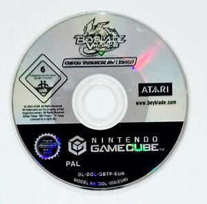 Nintendo GameCube Spiel BEYBLADE V-FORCE SUPER TOURNAMENT BATTLE dt PAL Spinning