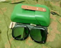 Soviet Original Military PROTECTIVE ABSORBING GLASSES OZP USSR