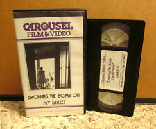DROPPING BOMB ON MY STREET Communism 1994 film Red Scare 1950s rare comedy VHS