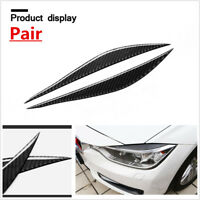 CARBON FIBER EYELID EYEBROW for BMW F30 3-Series 320i 328i 335i b307E