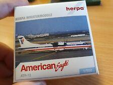 avion ATR_72 american eagle 1/500 herpa