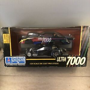 Radical Rick 1997 Ultra 7000 Racing Champions Pro Stock NHRA 1:24 Autographed