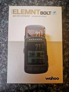 Wahoo Elemnt Bolt