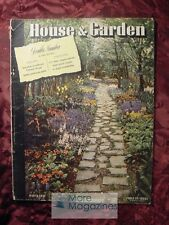 RARE House and & Garden MARCH 1941 Architecture Decoration Design Gardening