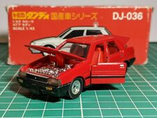Toyota Corolla Red JDM RHD 1/43 TOMICA DANDY Very Rare