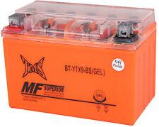 GEL YTZ10S Battery for Honda CBR 1000RR 600RR F4i CB900F YZF R6 R1 FZ8 YFM35R