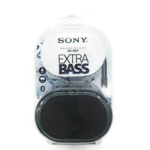 Sony SRS-XB01 Extra Bass  Portable Bluetooth Speaker Black Free Shipping