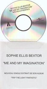 Sophie Ellis Bextor Me And My Imagination Cd Promo France Remixes Stonebridge