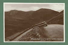 C1930'S RP PC BUS ON DEVIL'S ELBOW GLEN SHEE HIGHEST PUBLIC ROAD AT THE TIME