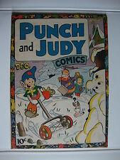 Punch And Judy Comics V2#5 G/VG Shoveling Snow
