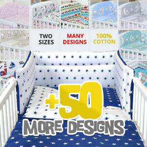 3/5 Piece Baby Bedding Set fit Cot 120x60cm or Cot Bed 140x70 -BABY GIRL BOY
