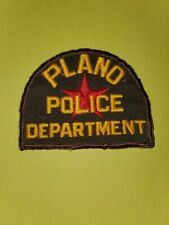 Plano Texas Police Dept Patch