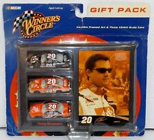"""New! 2002 Winner's Circle Gift Pack """"Tony Stewart"""" #20 1:64 Diecast 3 pk {4652}"""