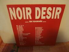 """noir desir""""en tournée""""single7""""or.fr.bar:1372.de 1991 promo"""