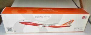HOGAN BOEING 747-8 1/200 PLASTIC PLANE 10864