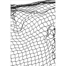 """KC - Clear Background Stamp 4""""X6"""" - Fishing Net"""