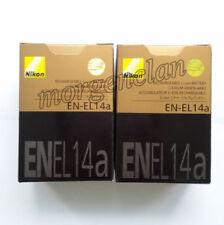 2x EN-EL14a Battery For Nikon Coolpix P7000 P7100 P7700 P7800 D5100 D5300 D5200