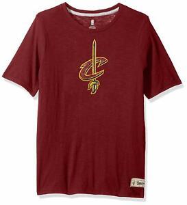 "NBA Kids & Youth Boys ""Standard"" Short Sleeve Tee Cleveland Cavaliers-Burgundy-S"