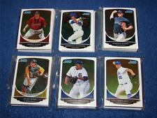 JIN-DE JHANG PITTSBURGH PIRATES 2013 BOWMAN CHROME PROSPECTS BCP23 LOT OF 22