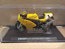 """DIE CAST  """" DUCATI 900 SUPERLIGHT - 1994 """"  MOTOMANIA  SCALA 1/24"""