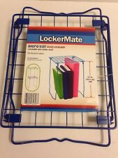NEW Blue Extra Tall Wire Locker Shelf Stac-a-Shelf Stackable 12 Inches Tall